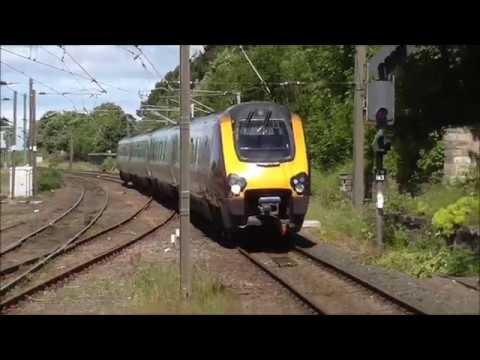 Few trains at Berwick 2/7/17