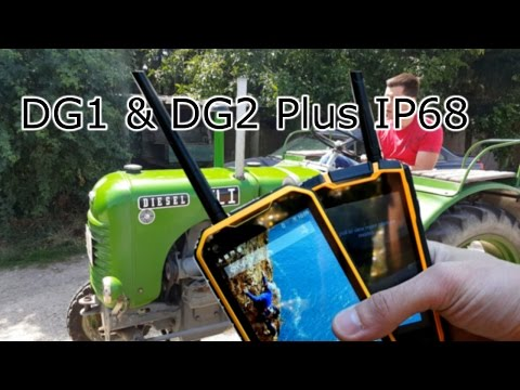 IP68 waterproof outdoor phones - Digoor DG1 and DG2 Plus Full Review - Walkie Talkie Function ! [4K]