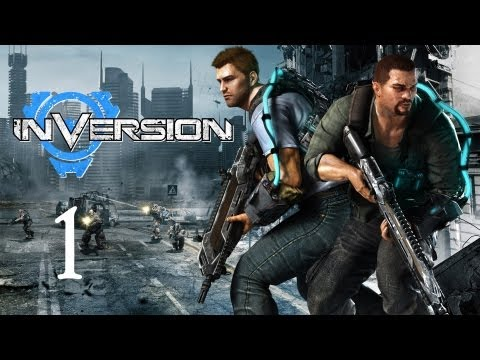 Inversion Gameplay Walkthrough - Part 1 (X360/PC/PS3)
