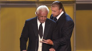 "Triple H recalls the ""worst moment ever"" during Ric Flair's WWE Hall of Fame induction: WWE 24 extra"