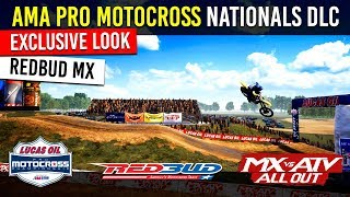RedBud Exclusive Look! - AMA Pro Motocross Championship DLC - MX vs ATV All Out Video