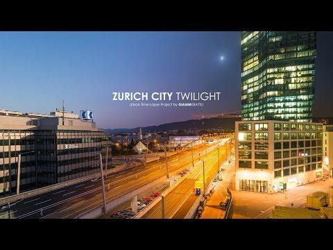 Zurich City Twilight