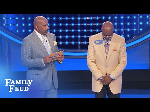 Kenisha's a... LION? | Family Feud from YouTube · Duration:  49 seconds
