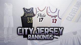 RANKING ALL 30 NEW NBA CITY JERSEYS