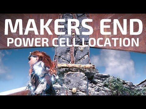 Makers End Power Cell Location And Collection Game Play Walkthrough Horizon Zero Dawn Guide