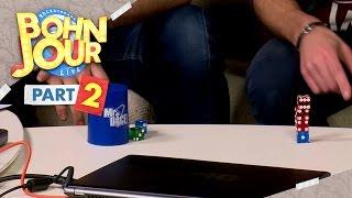 [2/3] Bohn Jour #41 | Deutscher Stackingmeister und Rubix Cube vs Ian | 28.10.2015
