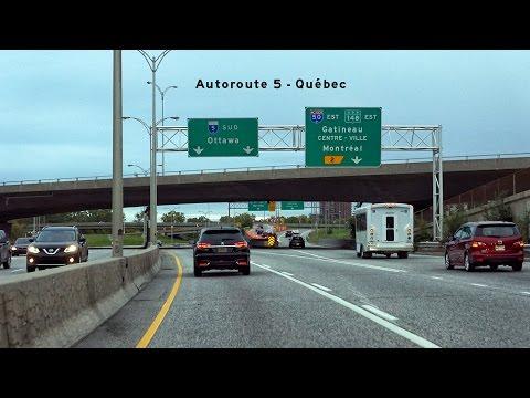 2016/10/01 - Quebec Autoroute 5 South