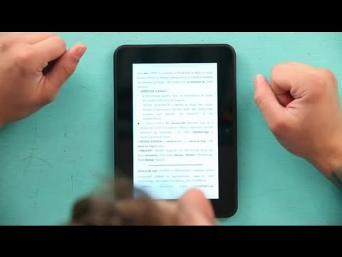 How To Get My Kindle Dictionary To Work : Kindle Tips