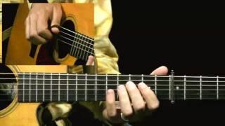 The Lone Arranger - #6 Flowers of Edinburgh - Guitar Lesson - Pete Huttlinger