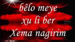 Ebdulqehar zaxoyi - loma nekin lyrics