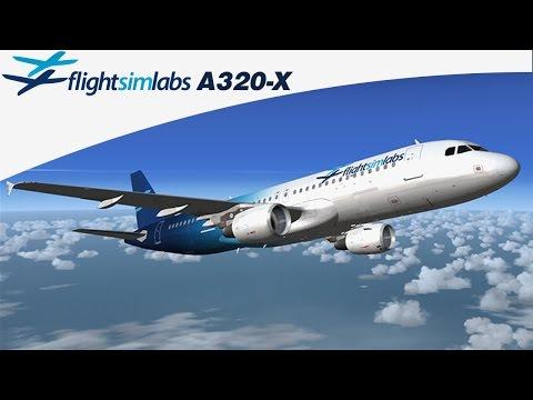 Flight Sim Labs Airbus A320X FSX/P3D - Ariel Creation - Flight
