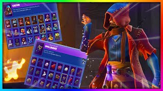 "Before You Buy ""CASTOR"" - All Skin and Back Bling Combinations in Fortnite"