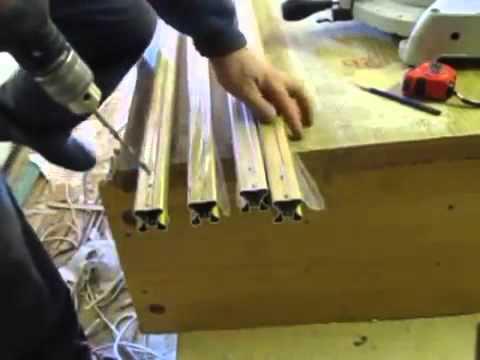 видео: Сборка и расчет размеров для двери шкафа купе