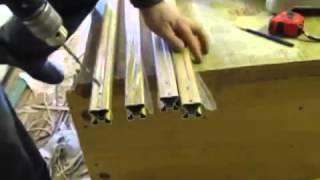 Сборка и расчет размеров для двери шкафа купе