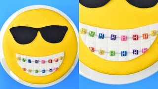 EMOJI CAKE, BRACES ARE COOL! HANIELA'S