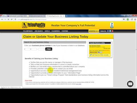 How to submit business on yellowpagecity.com