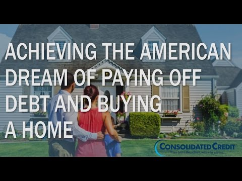 Achieving the American Dream of Paying Off Debt to Buy a Home
