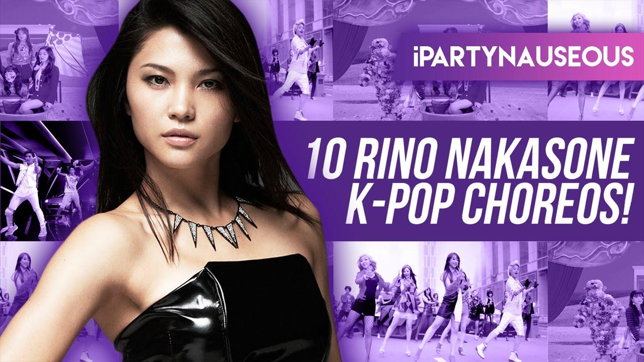 10 kpop choreos by rino nakasone youtube