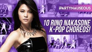 10 K-pop Choreos By Rino Nakasone!