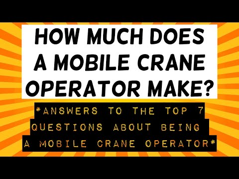 How Much Does A Mobile Crane Operator Make?