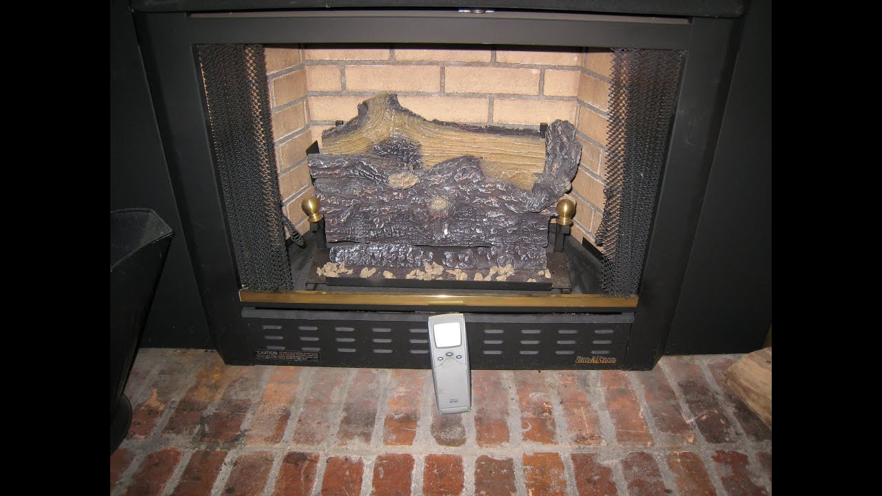 Pilot light will not stay lit on a fireplace Buck Stove - YouTube