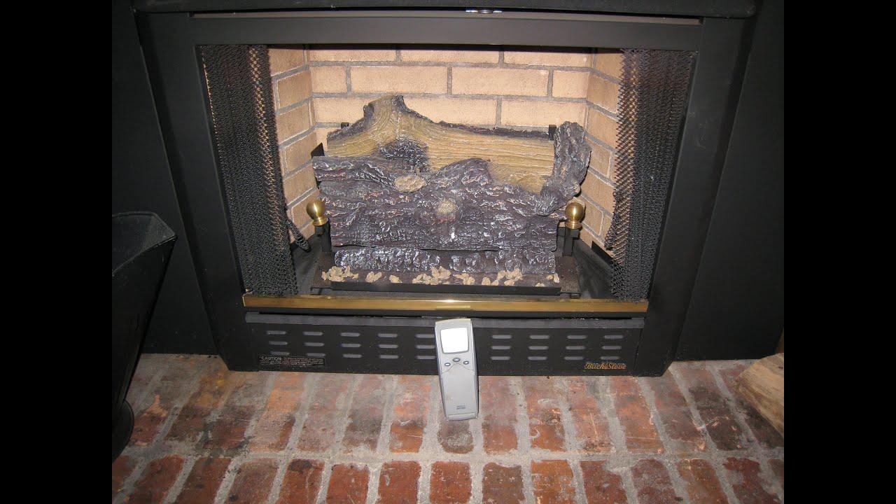 Pilot light will not stay lit on a fireplace Buck Stove  YouTube