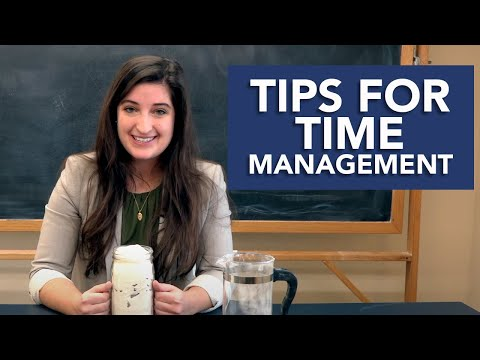 Tips for Time Management |  5 Challenges Freshmen Face Series w/ Maribeth Kelly
