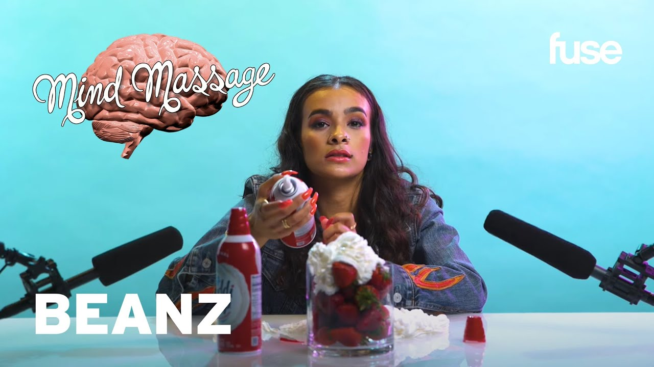 Beanz Does ASMR with Whipped Cream, Talks Poetry, 'Rhythm & Flow' & Female Rap | Mind Massage