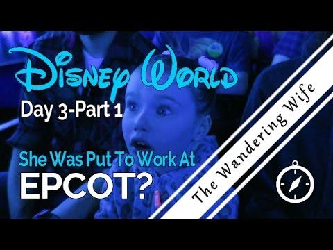 Disney World: EPCOT - Frozen & Soarin' (Day 3, Part 1)   TRAVEL VLOG  #0024
