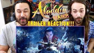 ALADDIN - Teaser TRAILER REACTION!!!