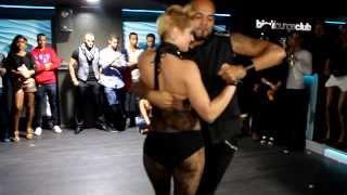 Видео: ALBIR Y CAROLA - Kizomba bisúloungeclub (05/01/2014)