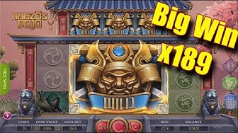 Big WIn x189 - Hanzo goes CRAZY - Online Slots - PlayOJO Casino - The Reel Story