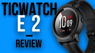 TICWATCH E2 Unboxing Review - WEAR OS! WhatsApp e Spotify no relógio, mas vale a pena? - TICWATCH BR