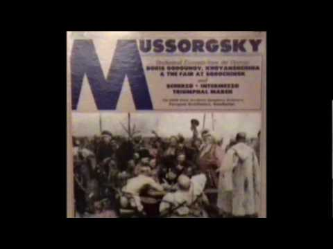 "Svetlanov conducts Mussorgsky - Triumphal March, ""The Capture of Kars"""