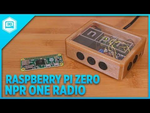 Raspberry Pi Zero NPR One Radio