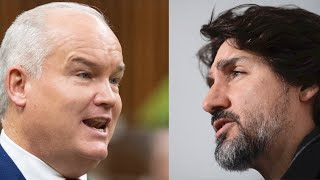O'TOOLE VS. TRUDEAU: Showdown during Question Period with no answers!