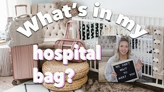 What's In My Hospital Bag - Third Baby, Scheduled Caesarian, Pack with Me