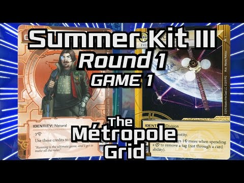Netrunner Summer Kit III 2015: Round 1 - Game 1