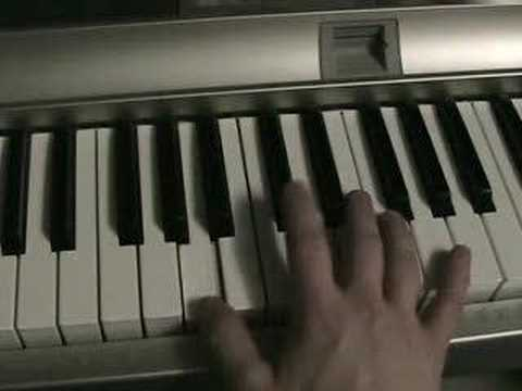 How to play Sams Town by The Killers on piano keyboard synth