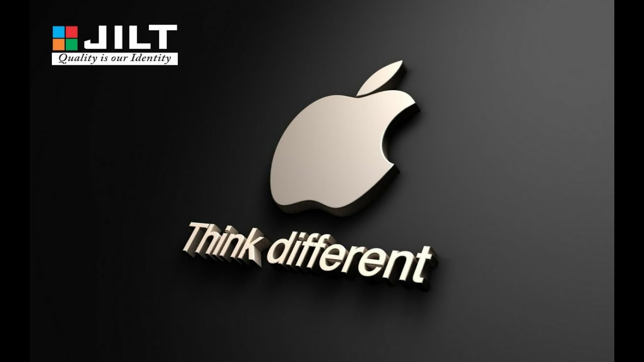 create apple logo in