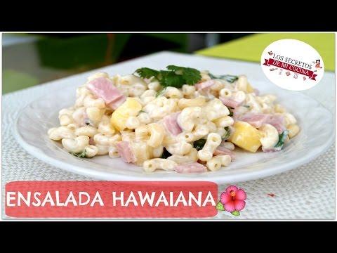 ENSALADA HAWAIANA 🍰 LOS SECRETOS DE MI COCINA🍰