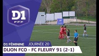 J20 : Dijon FCO - FC Fleury 91 (2-1) / D1 Féminine