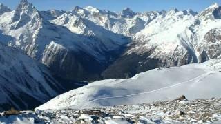 Зима в Домбае(, 2010-11-28T12:58:56.000Z)