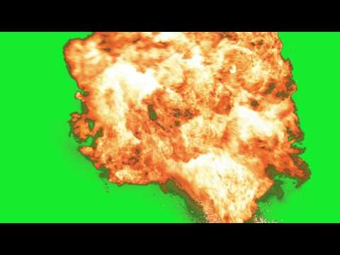 Explosion 10 - Green Screen Green Screen Chroma Key Effects