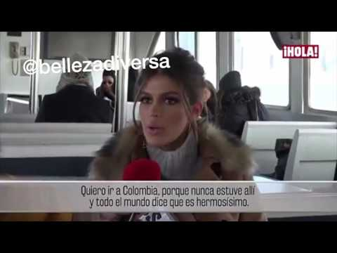Miss Universe De visita en Colombia?