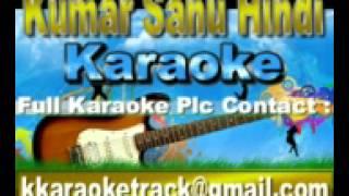 Badlon Mein Chup Gaya Karaoke Phir Teri Kahani Yaad Ayee {1993} Kumar Sanu