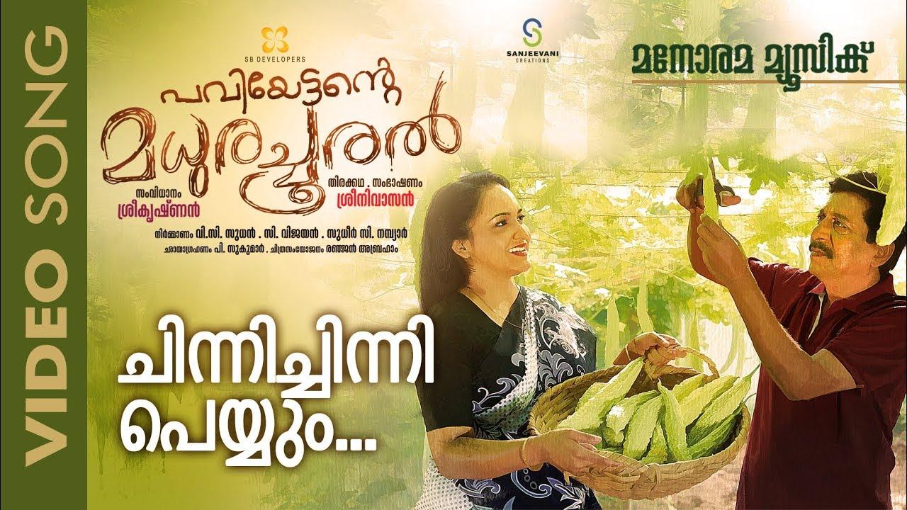 Chinni Chinni | Paviyettante Madhura Chooral | M G Sreekumar | Sreenivasan | Lena