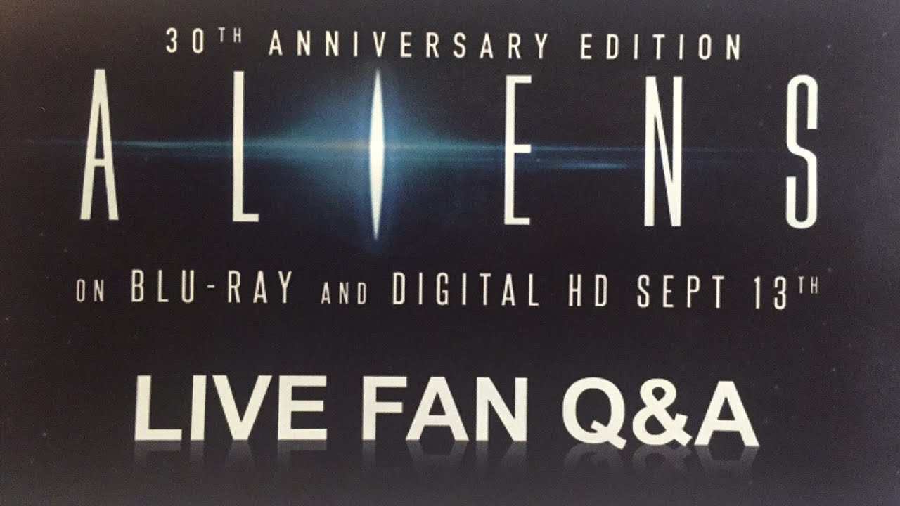 Aliens 30th Anniversary | Live Fan Q&A