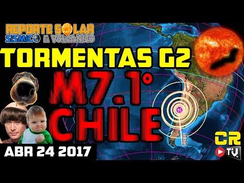 (((M7.1 CHILE)))  -REPORTE SOLAR SISMICO Y VOLCANICO (ABR 24 2017)