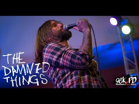 The Damned Things Live At Tempe Marketplace